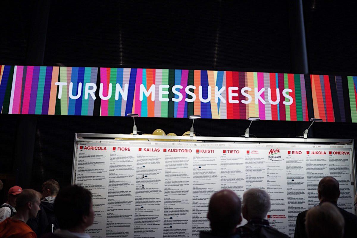Turun kirjamessut ovat täällä / Turku Book Fair is here