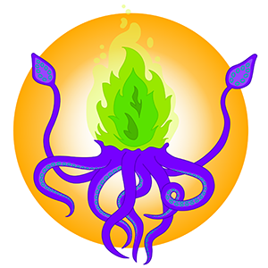 The Burnning Squid logo